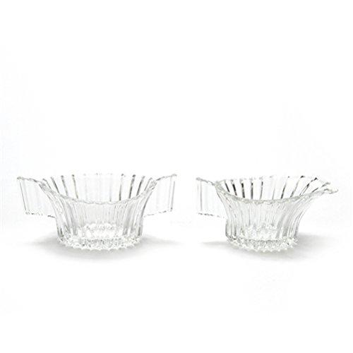 Ridgeleigh by Heisey Glass Cream Pitcher Sugar Bowl