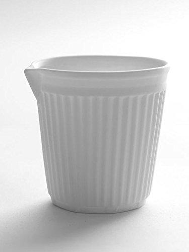 Creamer - Creased - Porcelain
