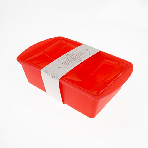 Miren Nonstick Thicken Silicone Baking Pan With Cover, Silicone Loaf Pan, Covered Cake Pan, Deep Dish Casserole
