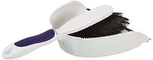 Rubbermaid Fg6c0100 Comfort Grip Duster And Dustpan Set
