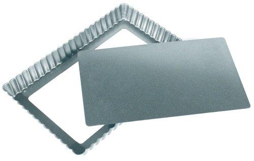 Fox Run Preferred Non-stick 11 Inch X 7 Inch Loose Bottom Rectangular Tart/quiche Pan