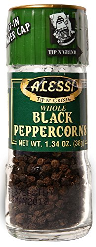 Alessi Whole Black Peppercorn Grinder -- 134 oz