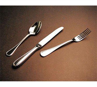 Winco Continental 12-piece Demitasse Spoon Set, Heavyweight Stainless Steel