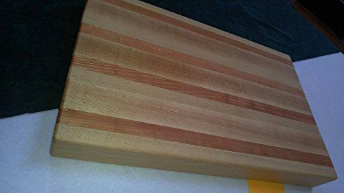Beautiful Professional Grade Maple and Cherry Cutting Board