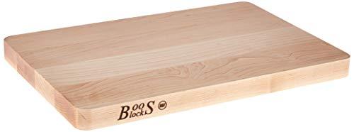 John Boos Block 214 Chop-N-Slice Maple Wood Edge Grain Reversible Cutting Board 20 Inches x 15 Inches x 125 Inches