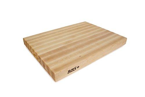 John Boos Block RA03 Maple Wood Edge Grain Reversible Cutting Board 24 Inches x 18 Inches x 225 Inches