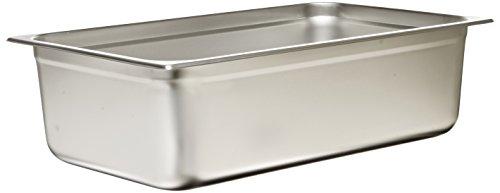 """Browne (98006) 6"""" Full-size Anti-jam Steam Pan"""