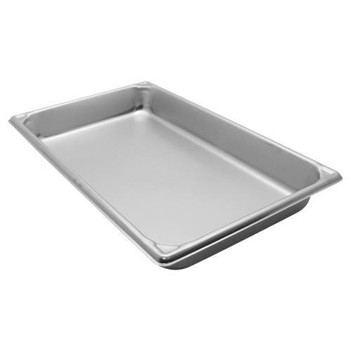 "Vollrath (30022) 2-1/2"" Deep Super Pan V(tm) Stainless Steel Full-size Steam Table Pan"