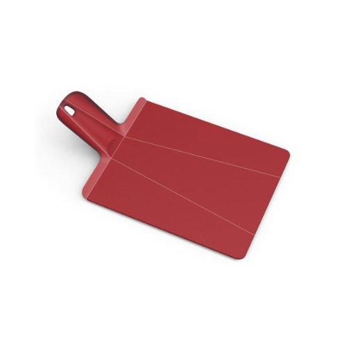 Joseph Joseph Large Chop2 Pot Plus Folding Chopping Board, Red