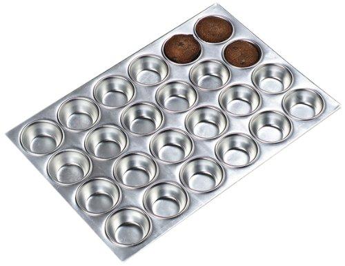 Carlisle 602424 - 24 Cup Aluminum Muffin Pan