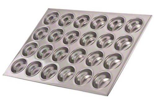 Update International MPA-24 24 Cup Aluminum Muffin Pan