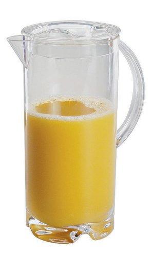 Paderno World Cuisine 2-18-Quart Acrylic Juice Pitcher