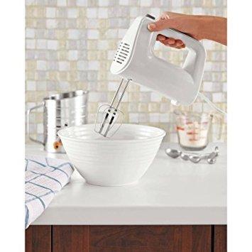 Mainstays 5-Speed Hand Mixer White