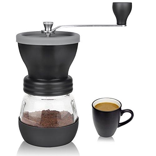 Coffee Grinder Aidodo Hand Burr Coffee Grinder Manual Coffee Grinder 100 Gram