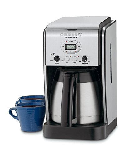 Cuisinart DCC-2750 Extreme Brew 10-Cup Thermal Programmable Coffeemaker Silver