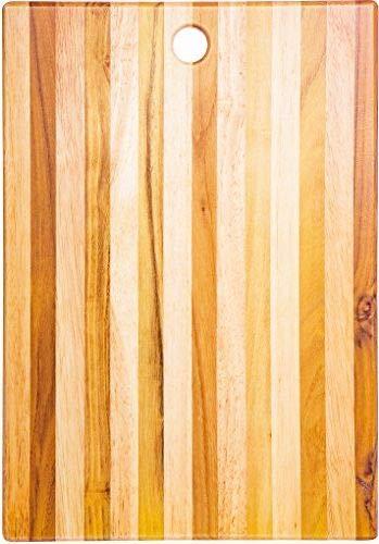 OKSLO Teak cutting board - wooden butcher block teak wood 15 x 11 x 1 Model 9006-14903-8533-10538