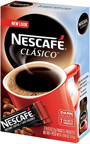 Nescafe Clasico Instant Coffee 8 Count Single Serve 12 Count
