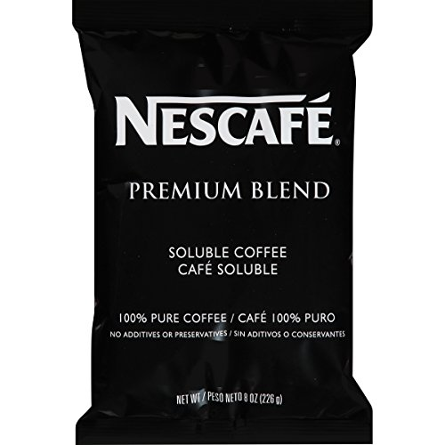Nescafe Coffee Premium Blend 8-Ounce Vend Pack