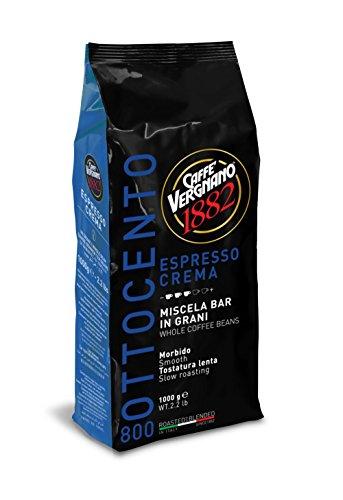 Caffe Vergnano 1882 Espresso Crema 800 Beans - 22 lb