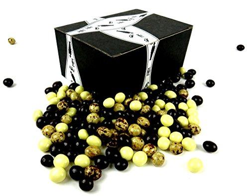 Cuckoo Luckoo Gourmet Chocolate Espresso Beans Blend 1 lb Bag in a BlackTie Box