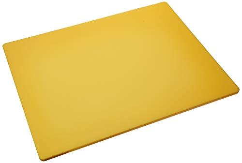 Winco CBYL-1824 Cutting Board 18-Inch by 24-Inch by 12-Inch Yellow