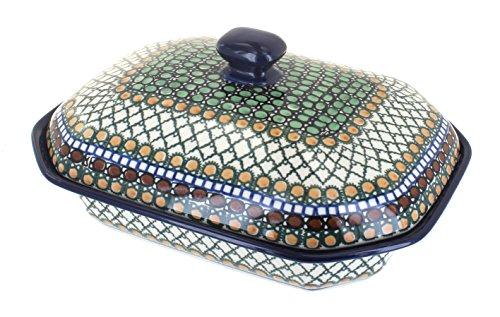 Polish Pottery Tranquility Medium Covered Baking Dish