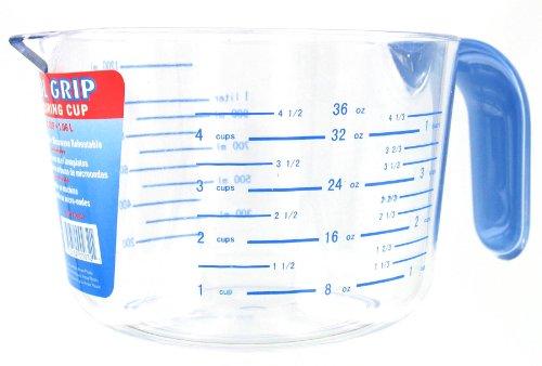 Arrow Plastic 00032 4-1/2 Cup Cool Grip Measuring Cup