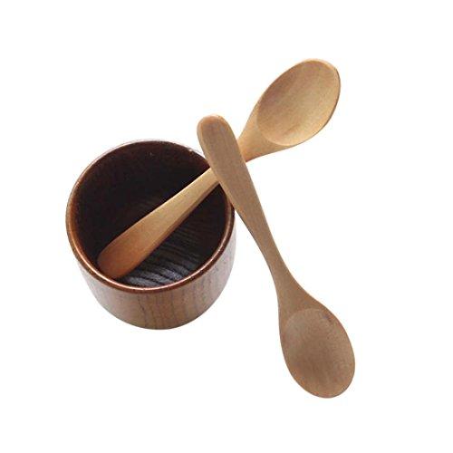Kitchen Tools METFIT 6 Pcs Bamboo Wooden Cooking Tools Utensil Spoon Spatula Mixing New B