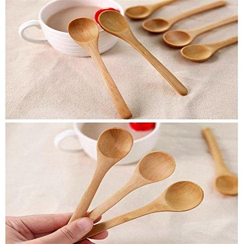 Kitchen Ware LLC Hot Products 6 Pcs Set Bamboo Utensil Kitchen Wooden Cooking Tools Spoon Spatula Mixing Cozinha Cozinhar Kitchen Supplies B