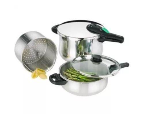 Fagor Rapida 5-pc Pressure Cooker Set - 8 Qt4 QTLidSteamerManual