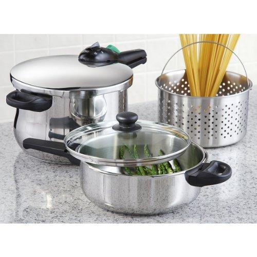 Fagor Rapida 5-pc Pressure Cooker Set by Fagor