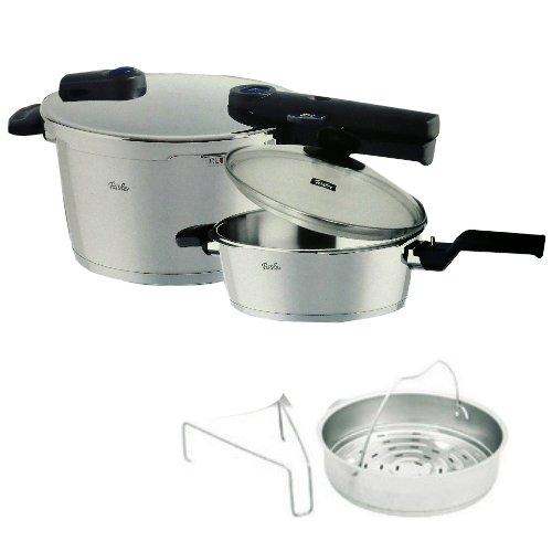 Fissler Vitaquick Plus Pressure Cooker Set 45L25L 90-11-11-511【Japan Domestic genuine products】
