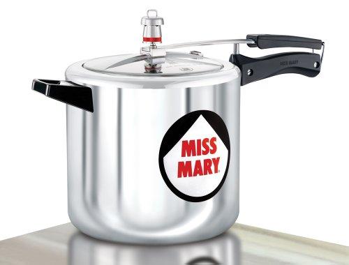 Hawkins Miss Mary Aluminium Pressure Cooker 7 Litres