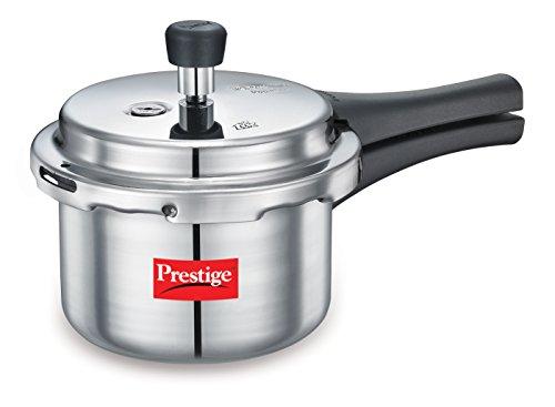 Prestige Popular Hard Anodized Aluminium Pressure Cooker 15 Litres White 10038