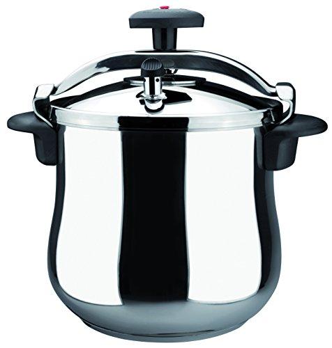 Magefesa 01OPSTABO08 Star B Stainless Steel Fast Pressure Cooker 8-Quart