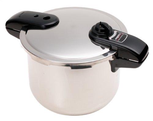 Pressure Cooker Presto Stainless Steel 8 Quart Power Best Pro Steam Crock Pot Kitchen Stovetop Cooks Essentials Like Chicken and Beans