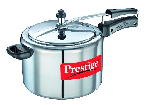 Prestige Nakshatra Plus Induction Base Aluminium Pressure Cooker 8 Litres