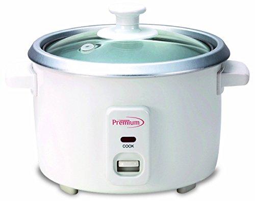Premium PRC1235 6 Cup Rice Cooker White