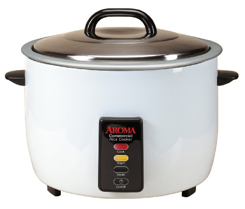 Aroma 48-Cup Cooked 24-Cup UNCOOKED Commercial Rice Cooker ARC-1024E