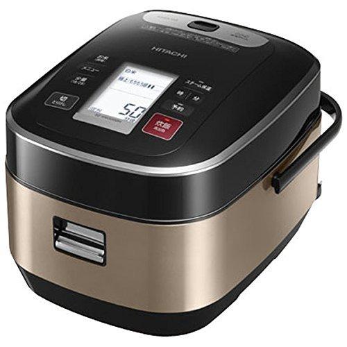HITACHI pressure steam IH jar rice cooker 55 GoCup cook Brown Gold Dakomitetsukama plump Gozen RZ-WW3000M-N Japan domestic model