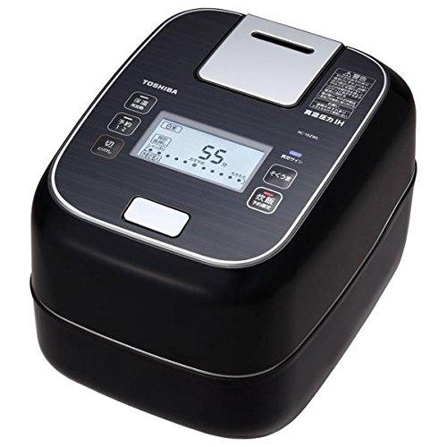 TOSHIBA Vacuum Pressure IH Jar Rice Cooker RC-10ZWL-K Grand Black【Japan Domestic genuine products】