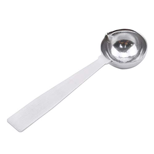 SOURBAN 5ml Stainless Steel Measuring Spoon Thick 2 mouths Teaspoon for Baking and Cooking