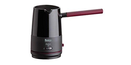 Fakir Harvest Greek Arabic Turkish Coffee Maker Electric Coffee Pot Briki Ibrik Kettle EU Plug Black