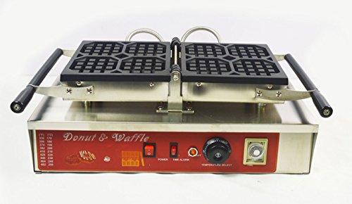110V Nonstick Electric 4pcs Waffle Maker Baker Machine Waffle Making Machine