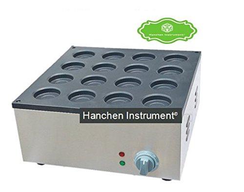 Hanchen Instrument FY-2233A Electric Aluminum Plate 110V220V 16 Hole Layer Cake Machine Red Bean Cake Maker Hamburg Maker Waffle Making Machine 110V