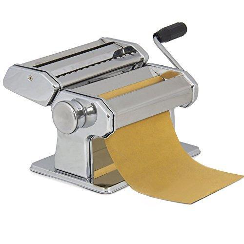 Pasta Maker Roller Machine 7 Dough Making Fresh Noodle Maker Stainless Steel
