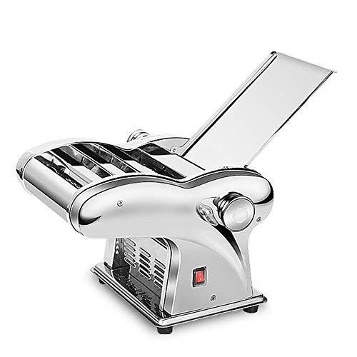 110V Stainless Steel Pasta Maker Roller Machine Electric Dumpling Skin Noodle Machine 1 Knife