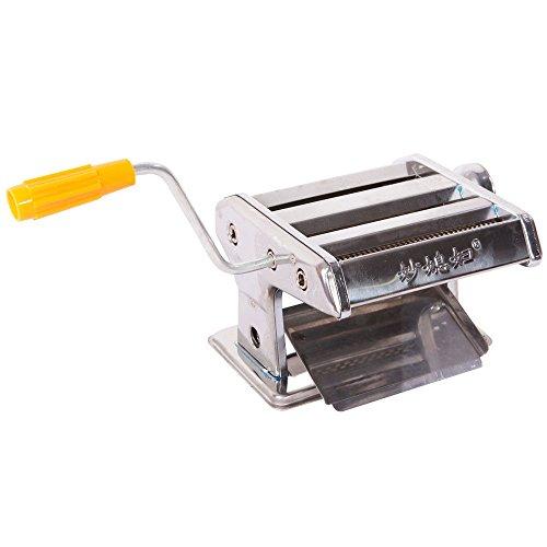 150mm 6 Pasta Maker Roller Machine Noodle Fettuccine Maker wHand-cranking
