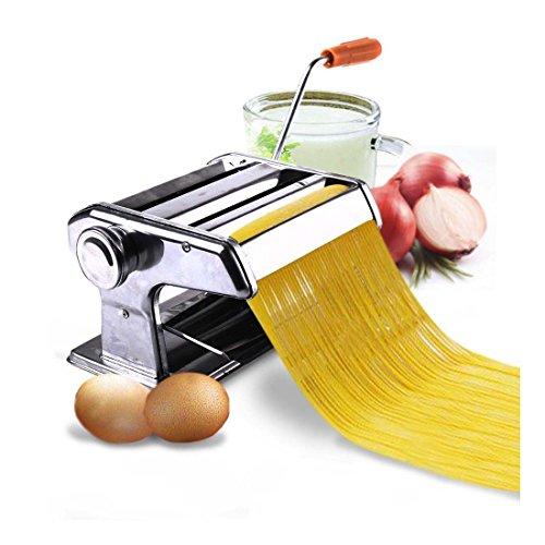 150mm 6 Pasta Maker Roller Machine Noodle Spaghetti Fettuccine Maker -Portable