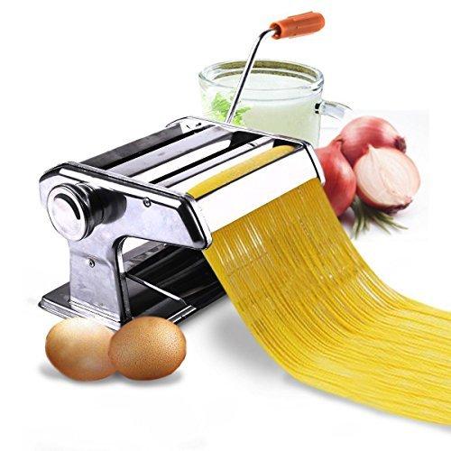 Scream Store 150mm 6 Pasta Maker Roller Machine Noodle Spaghetti&Fettuccine Maker Health